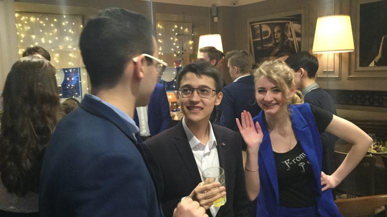 Фоторепортаж со встречи Лиги молодых финансистов