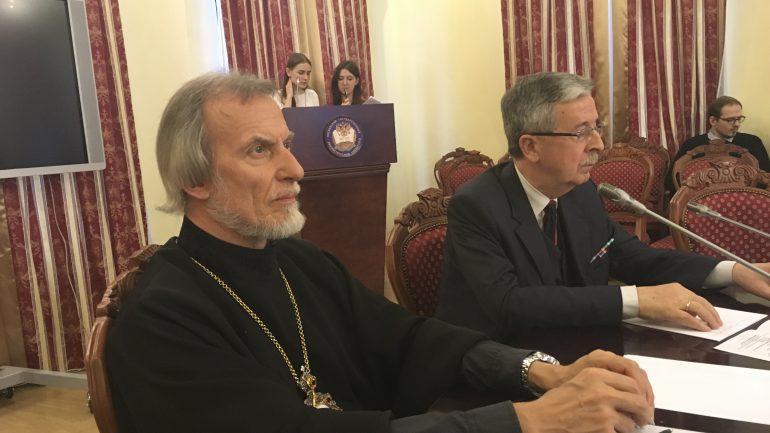 Встреча с Митрополитом Аргентинским и Южноамериканским Игнатием.