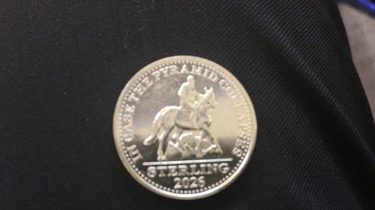 Монета от Германа Стерлигова