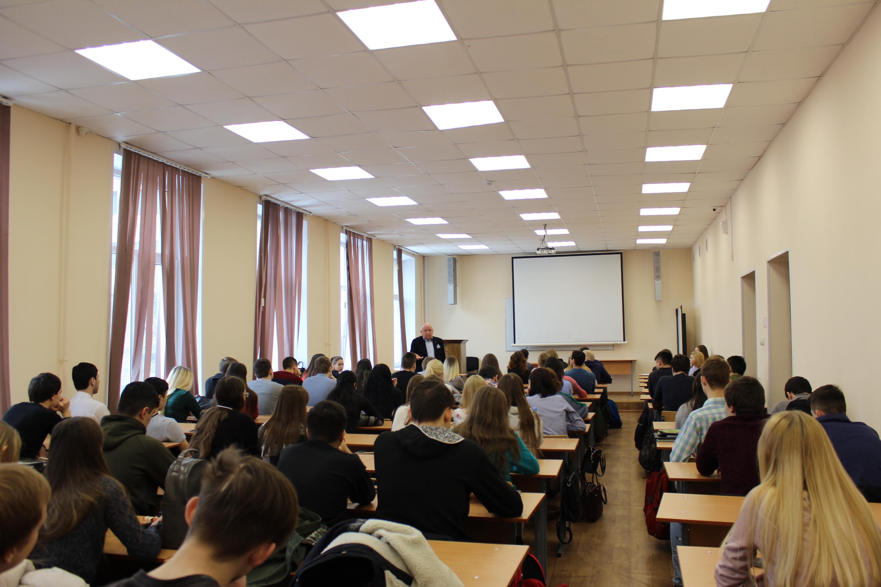 Встреча со студентами Московского государственного областного университета