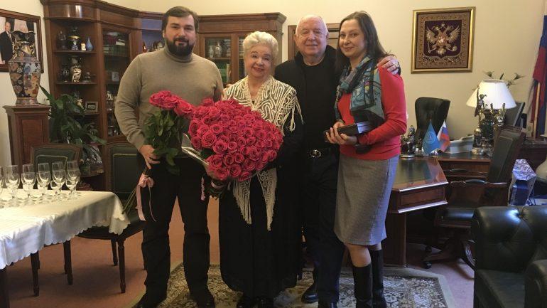 А. Г. Грязнова - как неиссякаемый источник энергии